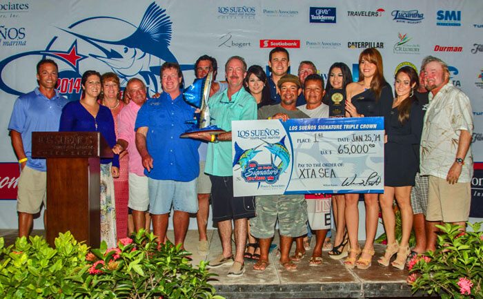 costa rica fishing tournament Los Suenos Signature Triple Crown Billfish series