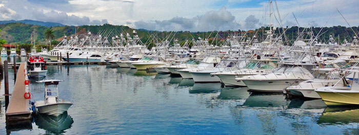 costa rica fishing marina